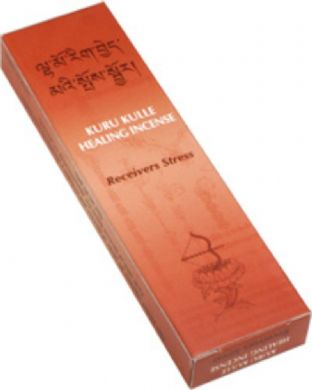 Gangchen | Tibetan Incense | Kuru Kulle |  Releases Stress | 20 Sticks | Made in Nepal
